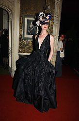 Model ERIN O'CONNOR at the 2006 Moet & Chandon Fashion Tribute in honour of photographer Nick Knight, held at Strawberry Hill House, Twickenham, Middlesex on 24th October 2006.<br />