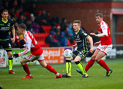 Luke Russe of Bristol Rovers passes the ball - Mandatory by-line: Robbie Stephenson/JMP - 02/04/2018 - FOOTBALL - Highbury Stadium - Fleetwood, England - Fleetwood Town v Bristol Rovers - Sky Bet League One