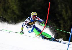 VALENCIC Mitja of Slovenia competes during Men's Slalom - Pokal Vitranc 2014 of FIS Alpine Ski World Cup 2013/2014, on March 9, 2014 in Vitranc, Kranjska Gora, Slovenia. Photo by Matic Klansek Velej / Sportida