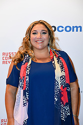 Jo Frost poses as arriving for the opening ceremony of the MIPCOM in Cannes - Marche international des contenus audiovisuels du 16-19 Octobre 2017, Palais des Festivals, Cannes, France.<br />