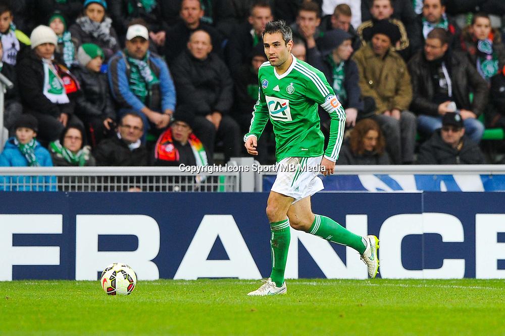 Loic PERRIN  - 04.01.2015 - Saint Etienne / Nancy - Coupe de France<br /> Photo : Jean Paul Thomas / Icon Sport