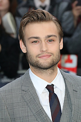 © Licensed to London News Pictures. 31/03/2014, UK. Douglas Booth, Noah - UK film premiere, Odeon Leicester Square, London UK, 31 March 2014. Photo credit : Richard Goldschmidt/Piqtured/LNP