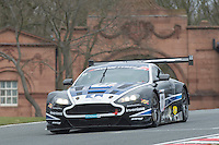 #11 Mark Farmer/Jon Barnes - 22GT Racing, Aston Martin Vantage GT3, PRO/AM during second practice for the Avon Tyers British GT Championship as part of the British GT Championship at Oulton Park, Little Budworth, Cheshire, United Kingdom. April 04 2015. World Copyright Peter Taylor/PSP. Copy of publication required for printed pictures.  Every used picture is fee-liable.http://archive.petertaylor-photographic.co.uk