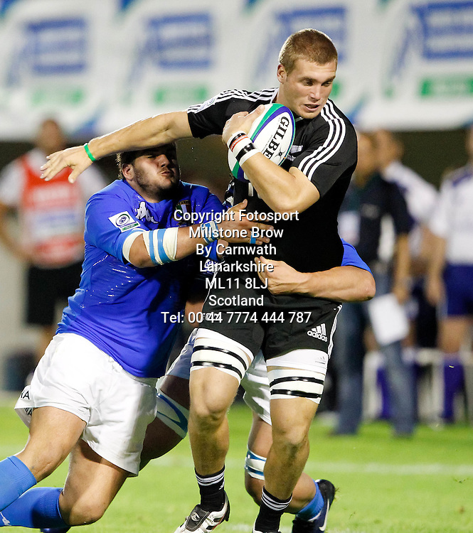 IRB Junior World Championship Italia 2011, Pool A; Italia v Nuova Zelanda; Treviso (Stadio Monigo); 10 Giugno 2011; ; Picture Credit: Roberto Bregani / FOTOSPORTITItaly 7-64 New Zealand, IRB Junior World Championship, Stadio Comunale di Monigo, Treviso, Italy, Friday 10th June 2011. Please credit ***FOTOSPORT/DANIELE RESINI***