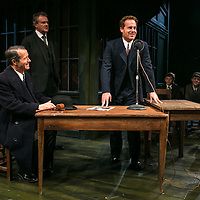 An Enemy of the People by Henrik Ibsen;<br /> Directed by Howard Davies;<br /> Hugh Bonneville as Dr Tomas Stockmann;<br /> Adam James as Hovstad;<br /> Jonathan Cullen as Aslaksen;<br /> Chichester Festival Theatre, Chichester, UK;<br /> 29 April 2016