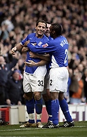 Shefki Kuqi celebrates after scoring.<br /> Ipswich Town v Nottingham Forest. Coca Cola Championship. 12/03/05. Picture by Barry Bland