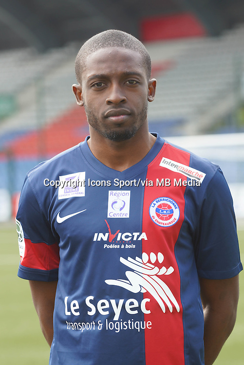 Terence MAKENGO - 04.08.2013 - Photo Offficielle Chateauroux - <br /> Photo : Icon Sport