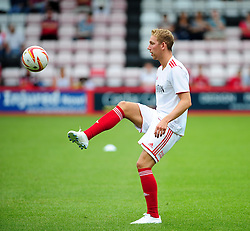Bristol City's Scott Wagstaff - Photo mandatory by-line: Dougie Allward/JMP - Tel: Mobile: 07966 386802 27/03/2013 - SPORT - FOOTBALL - Goldsands Stadium - Bournemouth -  Bournemouth V Bristol City - Pre Season friendly