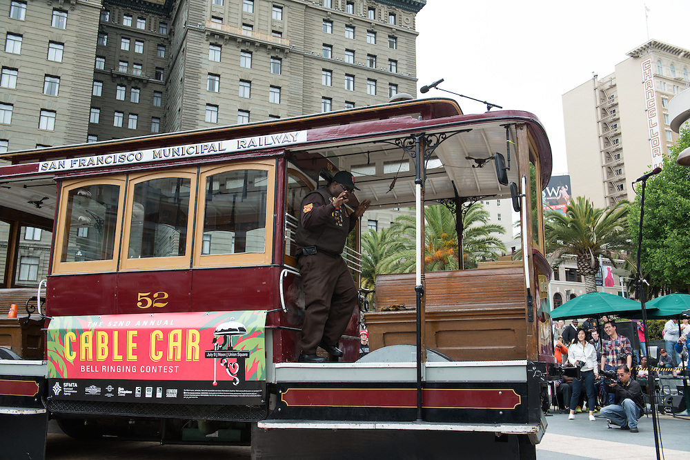 Trini Whittaker Performs at the 52nd Cable Car Bell Ringing Competition | July 9, 2015