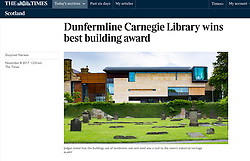 The Times; Carnegie Library in Dunfermline