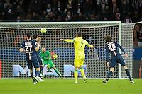 But de Alejandro Bedoya - 06.12.2014 - PSG / Nantes - 17eme journee de Ligue 1<br />Photo : Andre Ferreira / Icon Sport