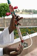 Egyptian musical instrument, Kitchener's Island, Aswan, Egypt