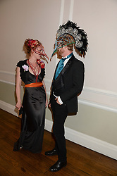 ISLA CAMPBELL and ALEX WELENSKY at the The Animal Ball – Masking Up Moment held at the Quintessentially Ballrooms, 29 Portland Place, London W1 on 10th June 2013.