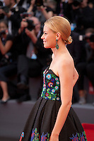 Acrtess Elizabeth Banks at the gala screening for the film Black Mass at the 72nd Venice Film Festival, Friday September 4th 2015, Venice Lido, Italy.