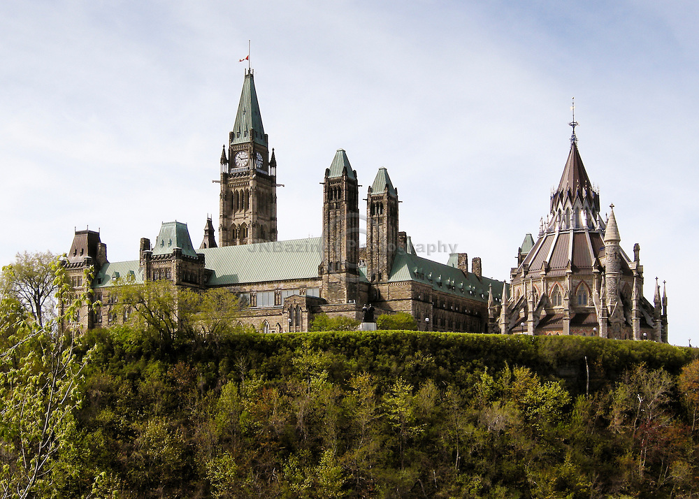 The Centre Block of Parliament -- with its distinctive Peace Tower and Library -- is familiar to Canadians and people around the world.