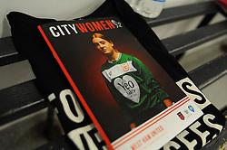 General views of the changing room prior to kick-off - Mandatory by-line: Nizaam Jones/JMP - 28/04/2019 - FOOTBALL - Stoke Gifford Stadium - Bristol, England - Bristol City Women v West Ham United Women - FA Women's Super League 1