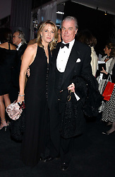 LORD & LADY BELL at the Conservative Party's Black & White Ball held at Old Billingsgate, 16 Lower Thames Street, London EC3 on 8th February 2006.<br />