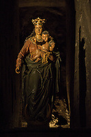 Wieliczka Salt Mine, Poland.Our Lady Victorious in The Holy Cross Chapel