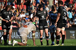 September 8, 2018 - Toulouse, France - Fin de match Toulouse vs La Rochelle (Credit Image: © Panoramic via ZUMA Press)