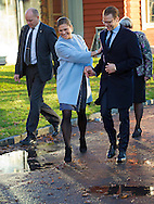Karlstad, 18-11-2015<br /> <br /> <br /> Crown Princess Victoria and Prince Daniel visit Varmland<br /> <br /> Royalportraits Europe-Bernard Ruebsamen