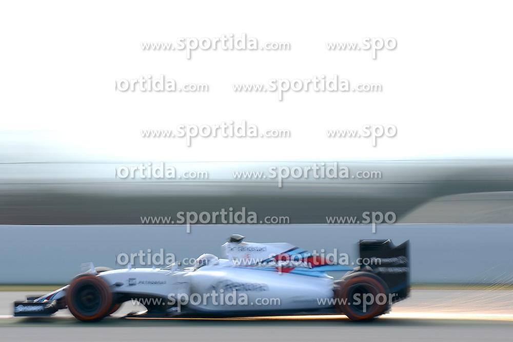 27.02.2015, Circuit de Catalunya, Barcelona, ESP, FIA, Formel 1, Testfahrten, Barcelona, Tag 2, im Bild Valtteri Bottas (FIN) Williams FW37 // during the Formula One Testdrives, day two at the Circuit de Catalunya in Barcelona, Spain on 2015/02/27. EXPA Pictures &copy; 2015, PhotoCredit: EXPA/ Sutton Images/ Patrik Lundin Images<br /> <br /> *****ATTENTION - for AUT, SLO, CRO, SRB, BIH, MAZ only*****