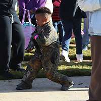 Zayden Verner, 4, entertained many survivors Saturday at the Hope Continues 5k with his excellent dancing