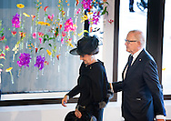 10-11-2014 AMSTERDAM -  On Monday, November 10 is the commemoration of the disaster flight MH17 in the RAI in Amsterdam. The commemoration was attended by His Majesty King Willem-Alexander, Her Majesty Queen Máxima, HRH Princess Beatrix and Princess Margriet of the Netherlands and Professor Pieter van Vollenhoven. On behalf of the Government speaks Prime Minister Mark Rutte. COPYRIGHT ROBIN UTRECHT