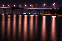 San Diego-Coronado Bridge @ Night