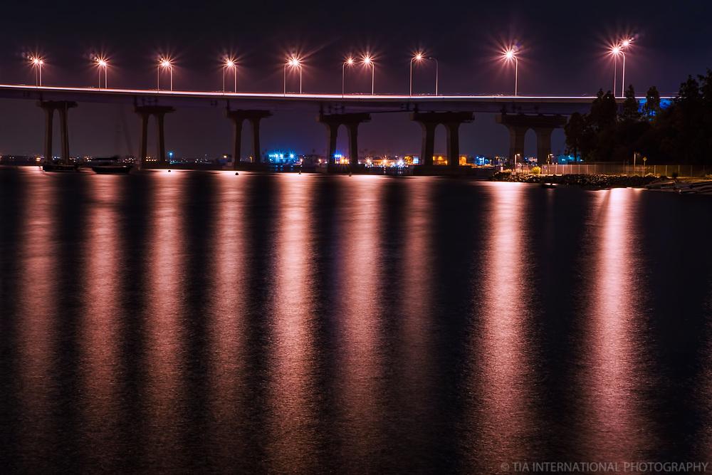 San Diego-Coronado Bridge @ Night