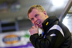Rob Daum, head coach EHC Liwest Linz, during ice-hockey match between HDD Tilia Olimpija and EHC Liwest Black Wings Linz at second match in Semifinal  of EBEL league, on March 8, 2012 at Hala Tivoli, Ljubljana, Slovenia. (Photo By Matic Klansek Velej / Sportida)