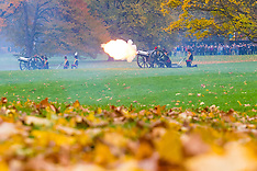 2017-11-14 Prince Charles honoured with Green Park gun salute on 69th birthday