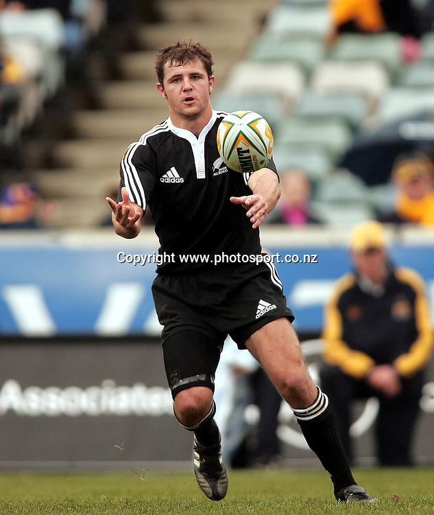 Australia A v Junior All Blacks. Canberra Stadium. 26th June 2005. Photograph taken by Paul Seiser ©Seiser Photography