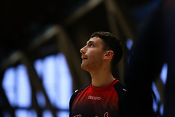 Josh Rogers of Bristol Flyers during the warm up - Photo mandatory by-line: Arron Gent/JMP - 28/09/2019 - BASKETBALL - Crystal Palace National Sports Centre - London, England - London City Royals v Bristol Flyers - British Basketball League Cup