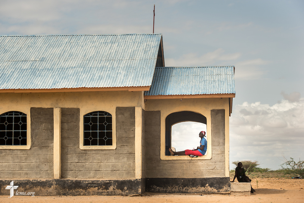 Patients relax at the LCMS Mercy Medical Team on Tuesday, June 21, 2016, in Nataparkakono, a village in Turkana, Kenya.  LCMS Communications/Erik M. Lunsford