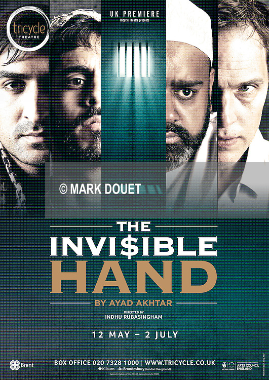 The Invisible Hand at the Tricycle Theatre by Ayad Akhtar. Director Indhu Rubasingham