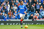 Connor Goldson of Rangers FC during the Ladbrokes Scottish Premiership match between Rangers and Aberdeen at Ibrox, Glasgow, Scotland on 27 April 2019.