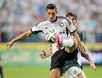 Fotball<br /> Kvalifisering UEFA Champions League<br /> 30.07.2014<br /> Legia Warszawa v Celtic 4:1<br /> Foto: imago/Digitalsport<br /> NORWAY ONLY<br /> <br /> MICHAL ZYRO