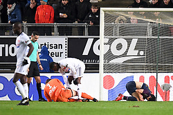 November 28, 2017 - Amiens, France - 22 Changhoon KWON (dij) - BLESSURE (Credit Image: © Panoramic via ZUMA Press)