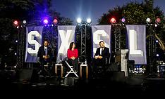 Washington:  Barack Obama participates at a panel discussion, 3 October 2016