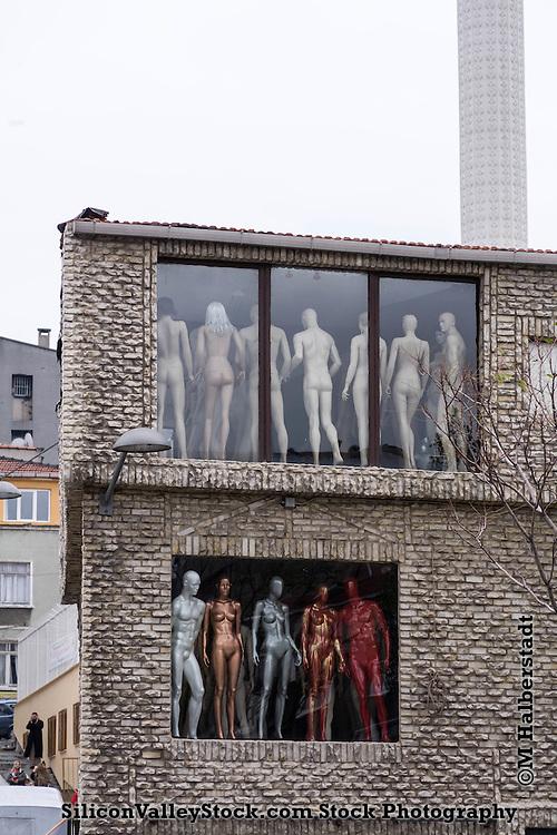 Europe - Turkey - Istanbul - mannequin district
