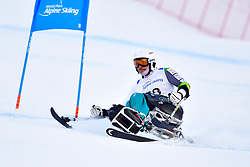 Super Combined and Super G, TAIT Sam, LW11, AUS at the WPAS_2019 Alpine Skiing World Championships, Kranjska Gora, Slovenia