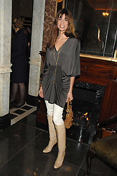 LISA BILTON at a party to celebrate the launch of the Astley Clarke Fine Jewellery Collection held at The Connaught hotel, London W1 on 28th February 2008.<br /><br />NON EXCLUSIVE - WORLD RIGHTS
