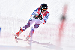 BROISIN Jordan LW4 FRA competing in ParaSkiAlpin, Para Alpine Skiing, Super G at PyeongChang2018 Winter Paralympic Games, South Korea.