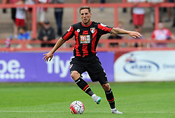 Bournemouth's Dan Gosling - Photo mandatory by-line: Harry Trump/JMP - Mobile: 07966 386802 - 18/07/15 - SPORT - FOOTBALL - Pre Season Fixture - Exeter City v Bournemouth - St James Park, Exeter, England.
