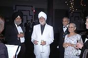 Inder Uppas and Ranbir Suri. The Black and White Winter Ball. Old Billingsgate. London. 8 February 2006. -DO NOT ARCHIVE-© Copyright Photograph by Dafydd Jones 66 Stockwell Park Rd. London SW9 0DA Tel 020 7733 0108 www.dafjones.com