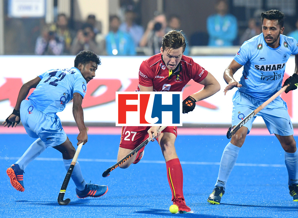 Odisha Men's Hockey World League Final Bhubaneswar 2017<br /> Match id:13<br /> Belgium v India<br /> Foto: Tom Boon (Bel) <br /> COPYRIGHT WORLDSPORTPICS FRANK UIJLENBROEK