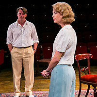 For Services Rendered by Somerset Maugham;<br /> Directed by Howard Davies;<br /> Yolanda Kettle (as Lois Ardsley);<br /> Anthony Calf (as Wilfred Cedar);<br /> Minerva, Chichester Festival Theatre, Chichester, UK,<br /> 5 August 2015