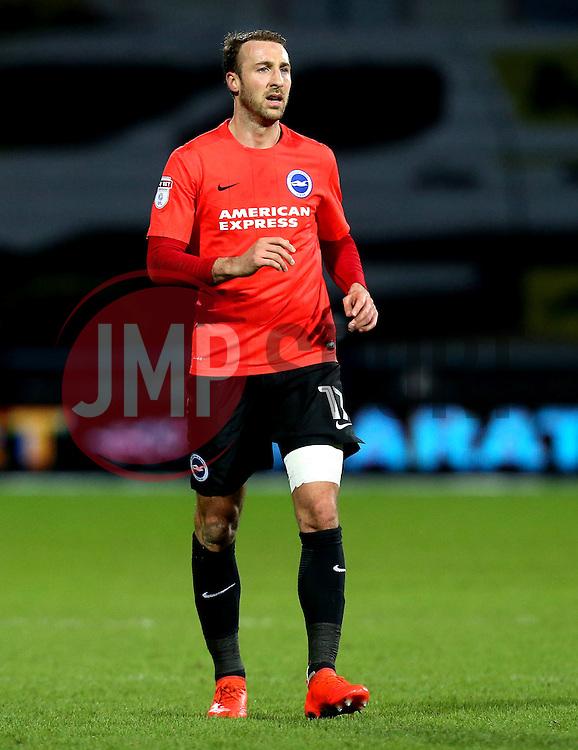 Glenn Murray of Brighton & Hove Albion - Mandatory by-line: Robbie Stephenson/JMP - 02/02/2017 - FOOTBALL - John Smith's Stadium - Huddersfield, England - Huddersfield Town v Brighton and Hove Albion - Sky Bet Championship