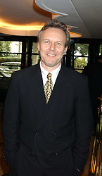 Actor ANTHONY HEAD at The Sir Peter O'Sullevan Charitable Trust Lunch at The Savoy, London on 23rd November 2005.<br />