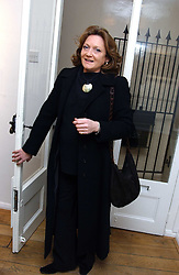 LEONORA, COUNTESS OF LICHFIELD at an exhibition of artist Jonathan Yeo's portrait paintings held at Eleven, 11 Eccleston Street, London SW1 on 16th February 2006.<br /><br />NON EXCLUSIVE - WORLD RIGHTS